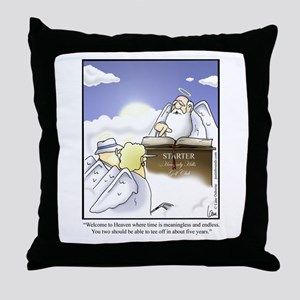GOLF 062 Throw Pillow
